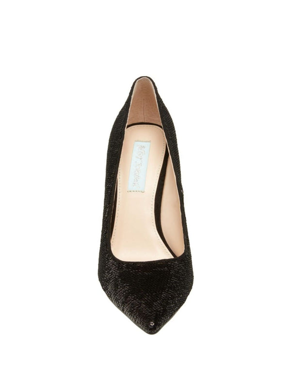 SB-LANI BLACK SEQUIN - SHOES - Betsey Johnson
