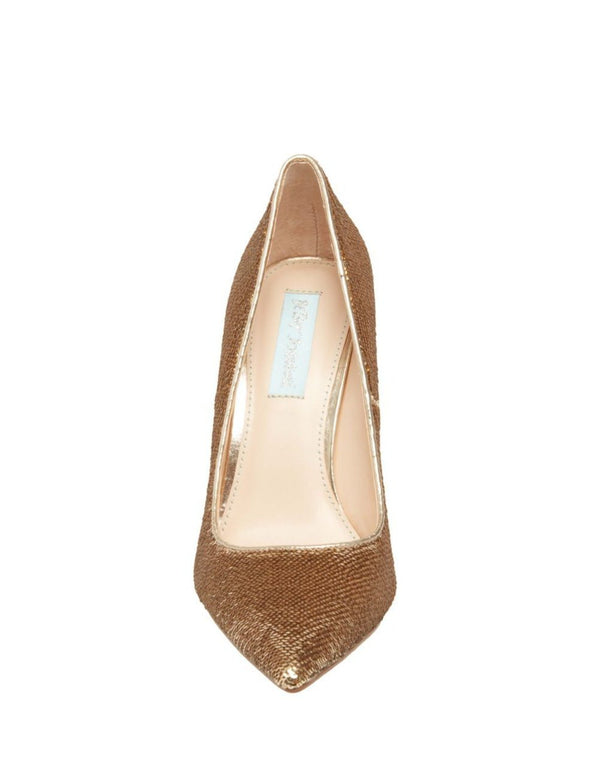 SB-LANI GOLD SEQUIN - SHOES - Betsey Johnson