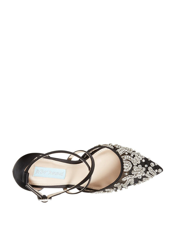 SB-LEILA BLACK - SHOES - Betsey Johnson