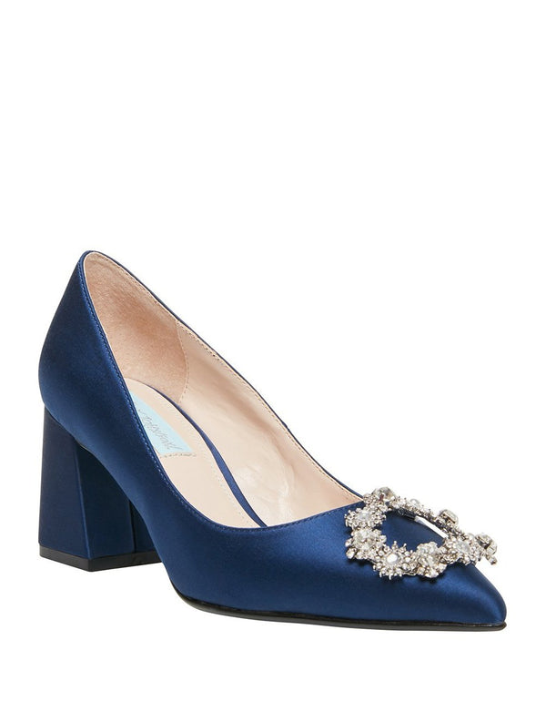 SB-LILLY NAVY - SHOES - Betsey Johnson