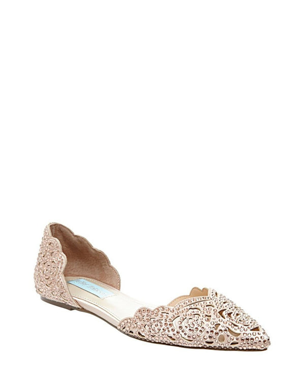 SB-LUCY BLUSH SATIN - SHOES - Betsey Johnson
