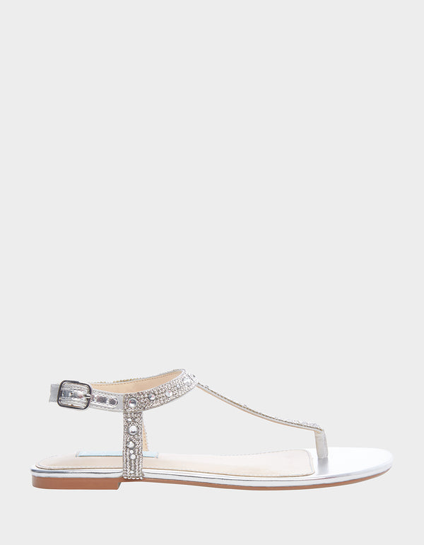 SB-LUX SILVER - SHOES - Betsey Johnson
