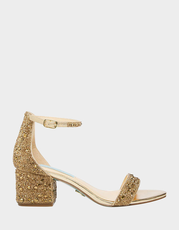 SB-MARI GOLD - SHOES - Betsey Johnson