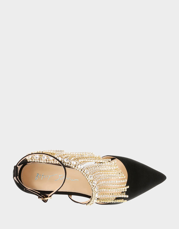SB-MAZE BLACK - SHOES - Betsey Johnson