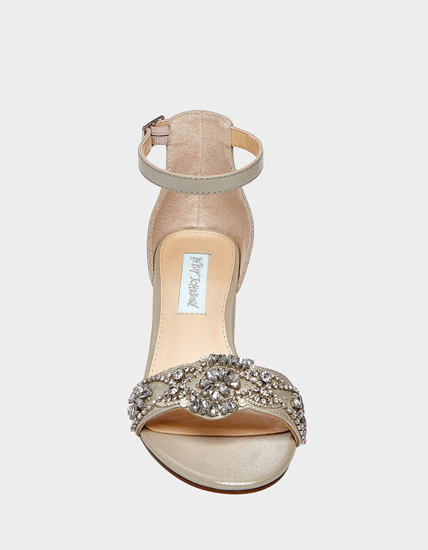 SB-MEL SILVER - SHOES - Betsey Johnson