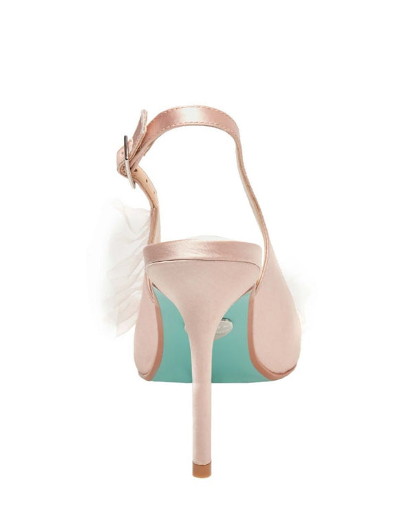 SB-MIA NUDE SATIN - SHOES - Betsey Johnson
