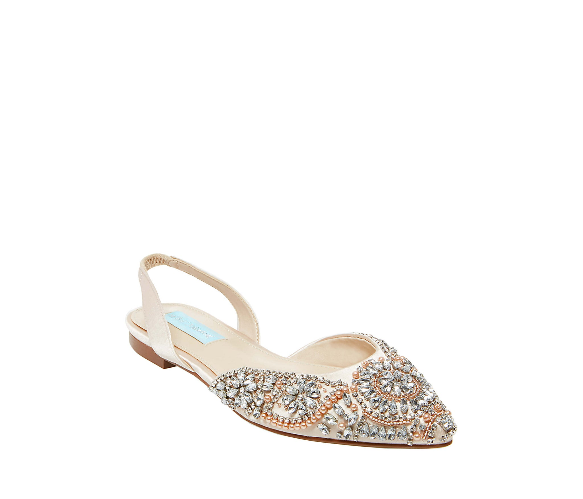 2f5970d8de8 SB-MOLLY CHAMPAGNE SATIN - SHOES - Betsey Johnson ...