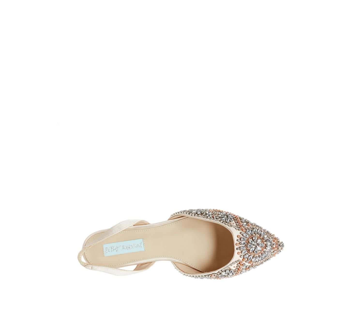 05c1a40c6a7 ... SB-MOLLY CHAMPAGNE SATIN - SHOES - Betsey Johnson