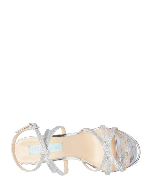 SB-MYLA SILVER GLITTER - SHOES - Betsey Johnson