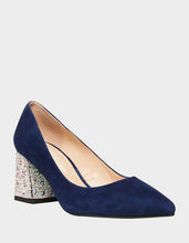 SB-PAIGE NAVY SUEDE - SHOES - Betsey Johnson