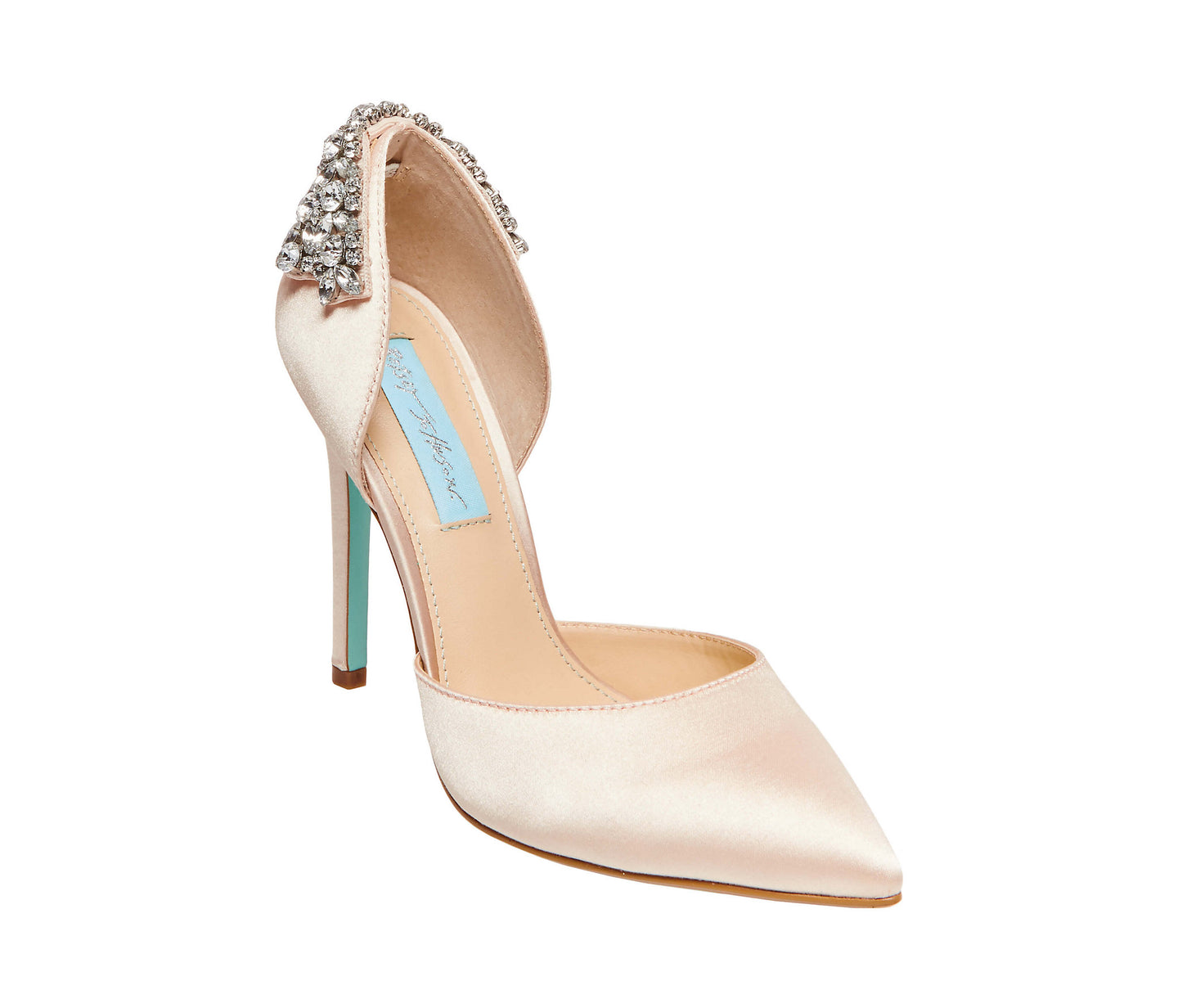 SB-ROSIE CHAMPAGNE SATIN - SHOES - Betsey Johnson