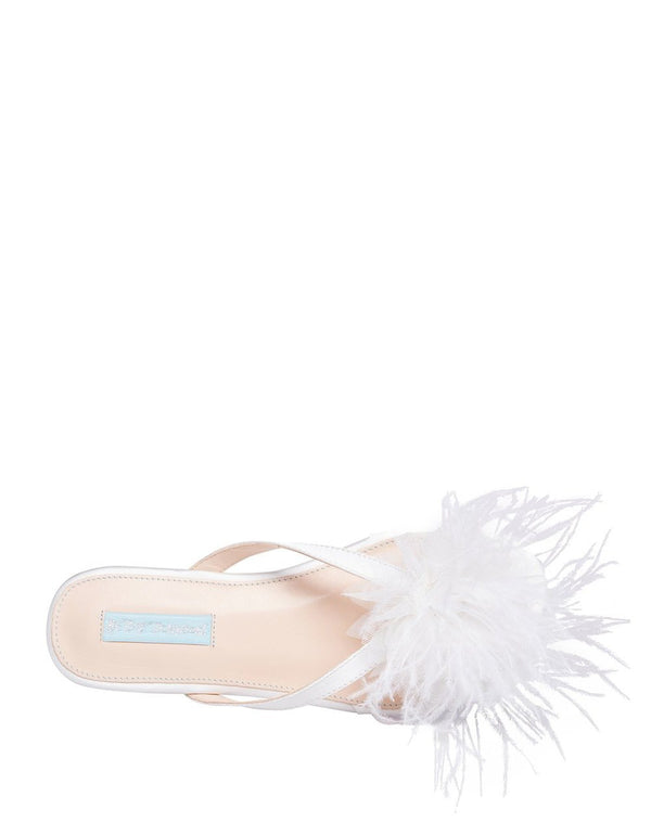 SB-TULIA IVORY SATIN - SHOES - Betsey Johnson