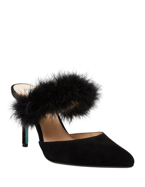 SB-VIV BLACK SUEDE - SHOES - Betsey Johnson
