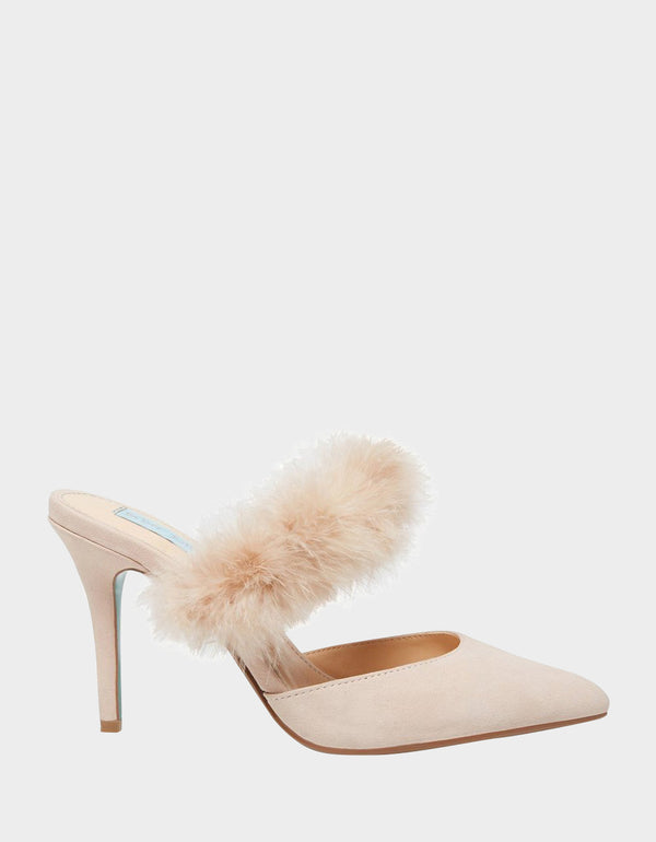 SB-VIV NUDE SUEDE - SHOES - Betsey Johnson