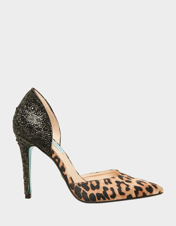 SB-YARA LEOPARD - SHOES - Betsey Johnson