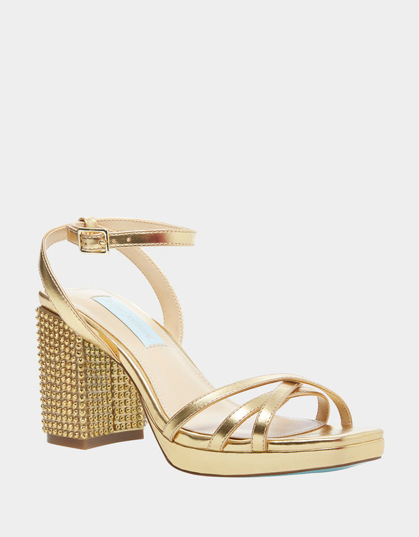 SB-ZHARA GOLD - SHOES - Betsey Johnson