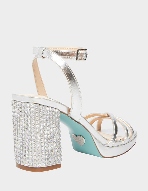SB-ZHARA SILVER - SHOES - Betsey Johnson