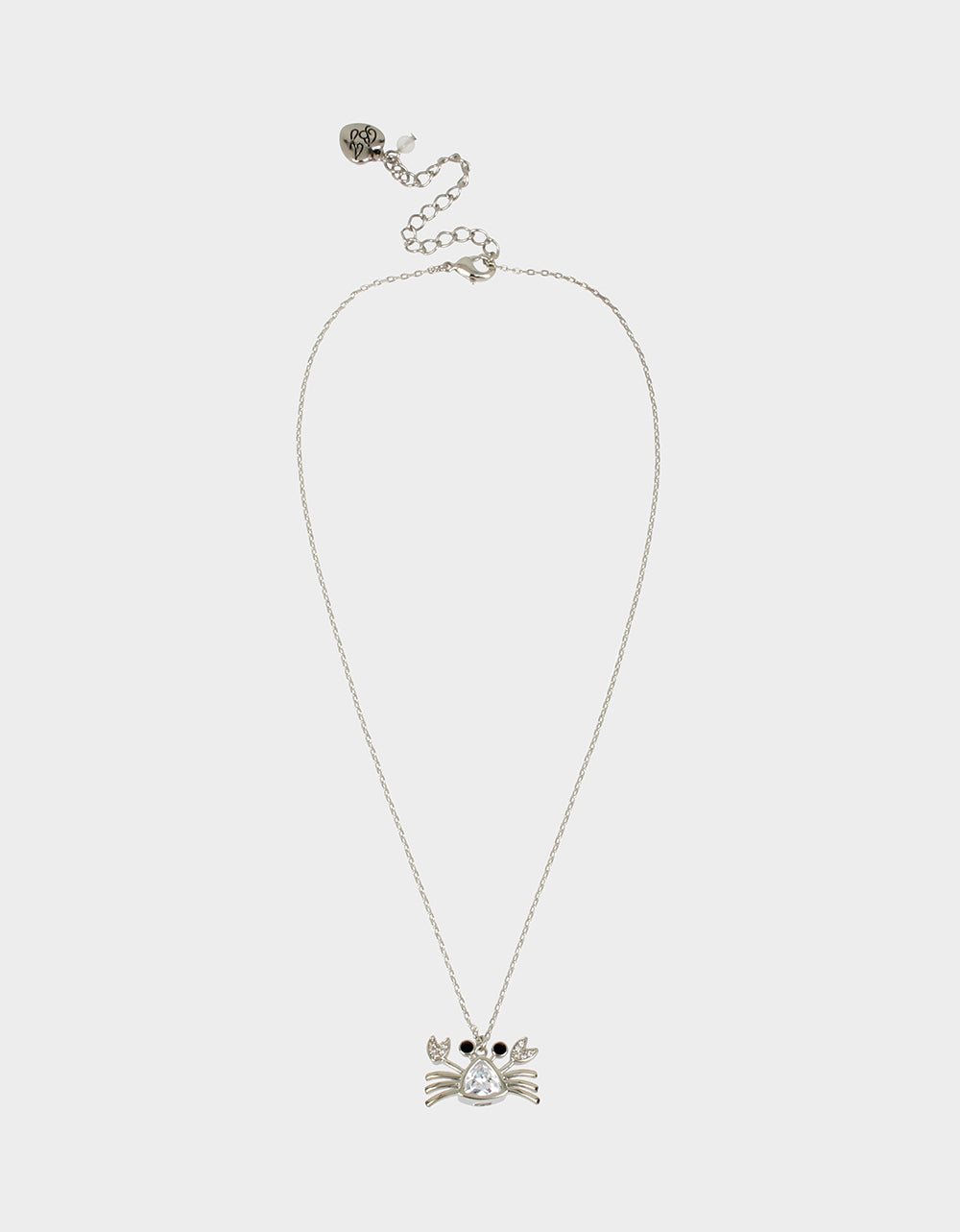 SEALIFE CRAB PENDANT CRYSTAL - JEWELRY - Betsey Johnson