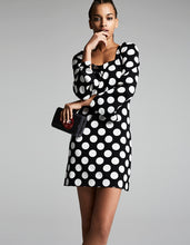SEEING SPOTS DRESS BLACK-WHITE - APPAREL - Betsey Johnson