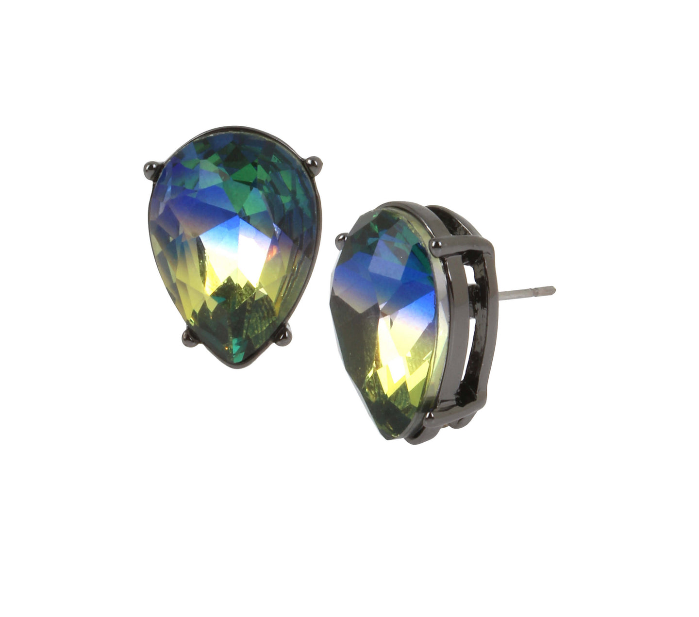 SHAKE IT OFF RAINBOW STUD EARRINGS MULTI - JEWELRY - Betsey Johnson