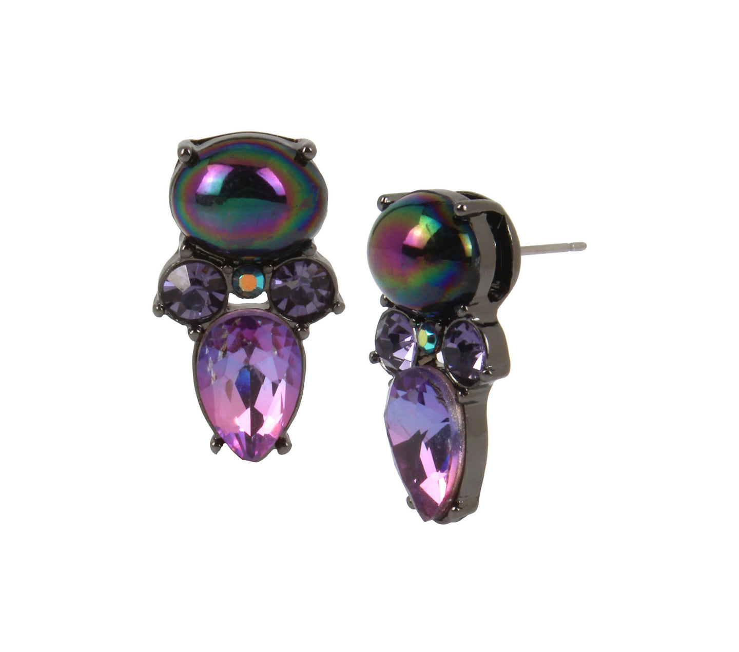SHAKE IT OFF STUD EARRINGS MULTI - JEWELRY - Betsey Johnson