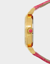 SHAKY BEES AND FLOWERS WATCH PINK - JEWELRY - Betsey Johnson