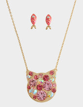 SKULLS AND CATS KITTY SET PINK - JEWELRY - Betsey Johnson