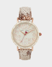 SLEEK SLITHERING WATCH GREY - JEWELRY - Betsey Johnson