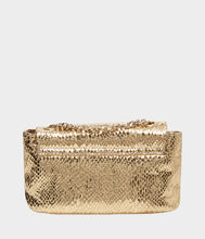 SLITHER AND SHINE CROSSBODY GOLD - HANDBAGS - Betsey Johnson