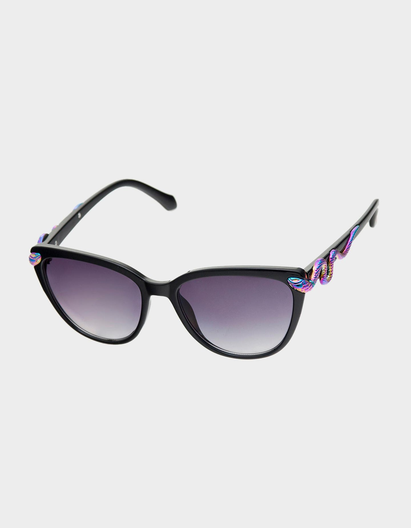 SLITHERING AROUND SUNGLASSES BLACK - ACCESSORIES - Betsey Johnson