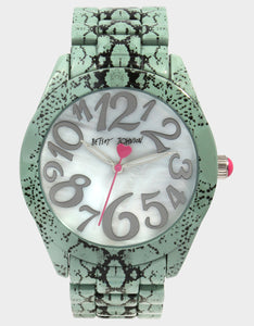 SLITHERING AROUND WATCH BLUE
