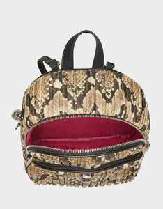 SLITHERING SKULL BACKPACK NATURAL SNAKE
