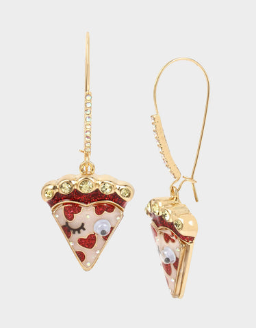 77ab9cee2 SNACK ATTACK PIZZA HOOK EARRINGS MULTI