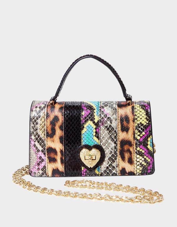 SNAKE MY DAY CROSSBODY MULTI - HANDBAGS - Betsey Johnson