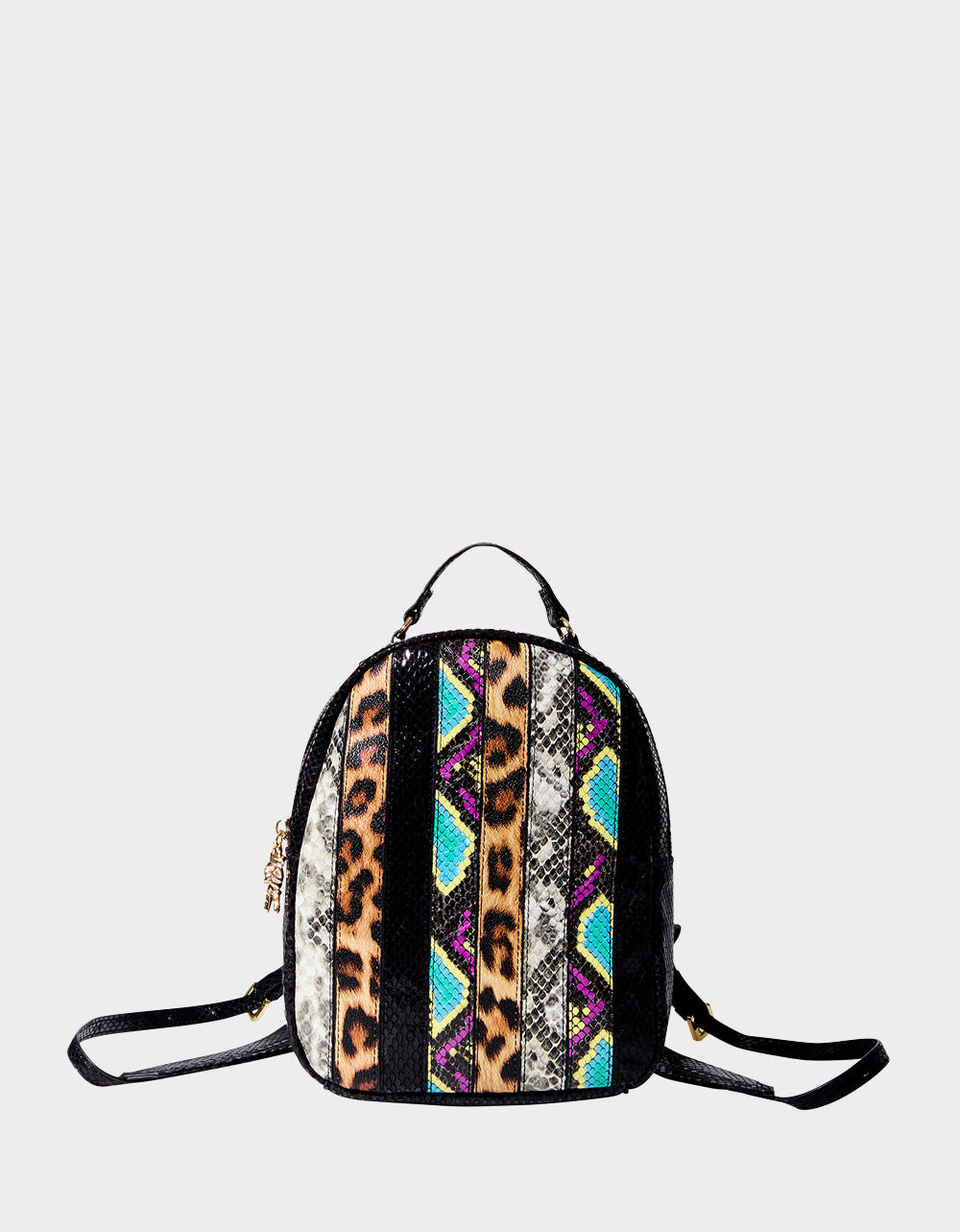 SNAKE MY DAY MINI BACKPACK MULTI - HANDBAGS - Betsey Johnson