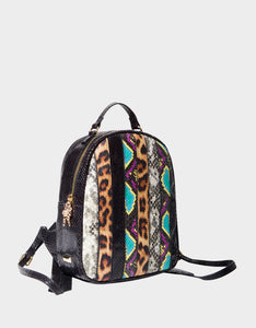 SNAKE MY DAY MINI BACKPACK MULTI