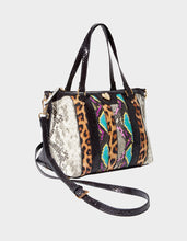SNAKE MY DAY SATCHEL MULTI - HANDBAGS - Betsey Johnson
