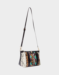SNAKE MY DAY SATCHEL MULTI