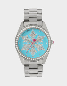 SNOWFLAKE SEASON BLUE WATCH BLUE