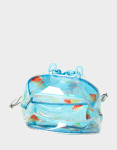 SO-FISH-TOCATED LARGE BACKPACK CLEAR