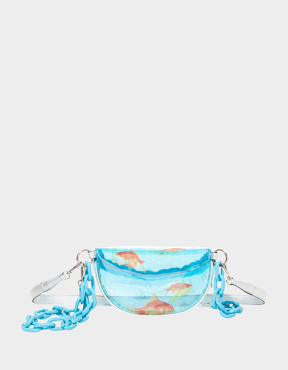SO-FISH-TOCATED FANNY PACK CLEAR - HANDBAGS - Betsey Johnson