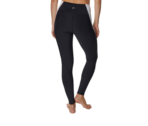 SPARKLE IT UP ANKLE LEGGINGS BLACK SILVER - APPAREL - Betsey Johnson