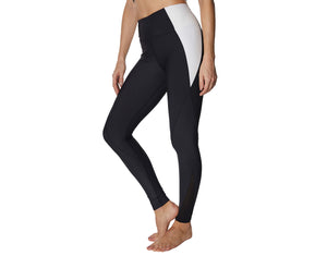 SPARKLE IT UP ANKLE LEGGINGS BLACK SILVER