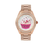 SPRINKLE TIME CUPCAKE WATCH ROSE GOLD - JEWELRY - Betsey Johnson