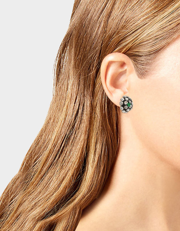 STAR POWER FIREBALL STUD EARRINGS CRYSTAL - JEWELRY - Betsey Johnson