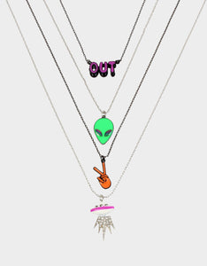 STAR POWER FOUR PENDANT SET MULTI
