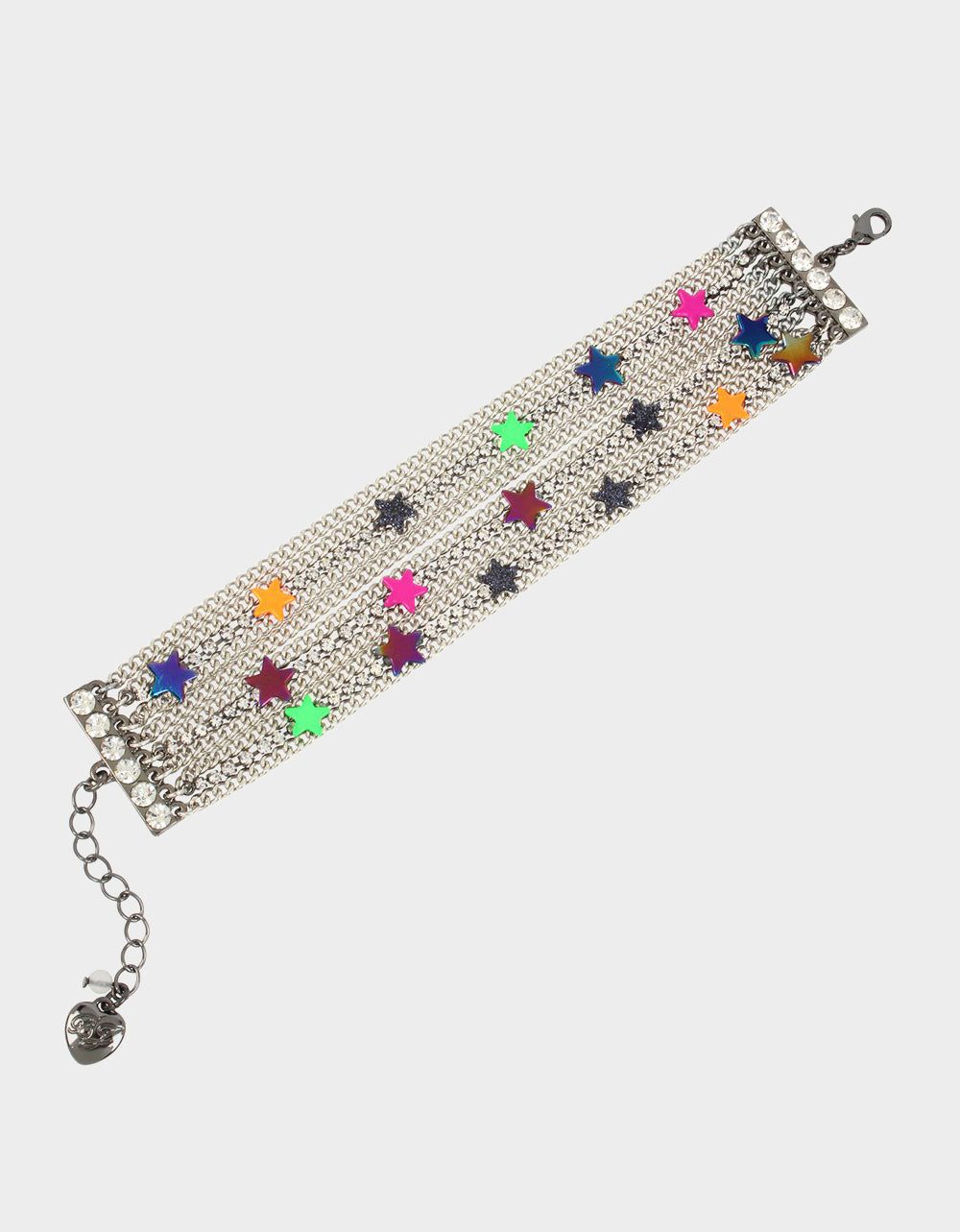 STAR POWER MULTI ROW BRACELET MULTI - JEWELRY - Betsey Johnson