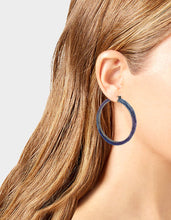 STAR POWER OMBRE HOOPS BLUE - JEWELRY - Betsey Johnson