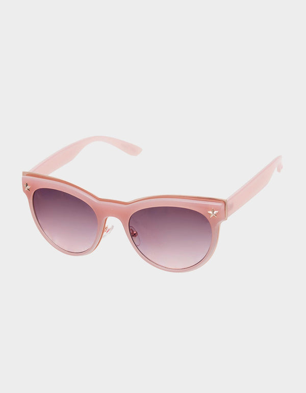 STAR SEARCH SUNGLASSES PINK - ACCESSORIES - Betsey Johnson