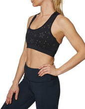 STAR STUDDED BRA BLACK GOLD - APPAREL - Betsey Johnson